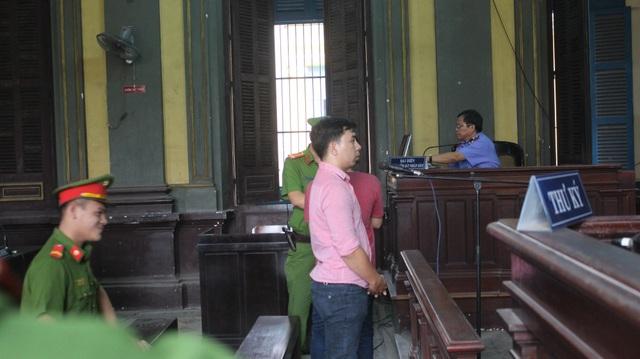 Bị cáo Nam tại phiên tòa.