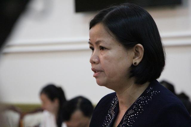 Bà Trịnh Thị Mỹ Lan – Phó Chủ tịch UBND quận 12