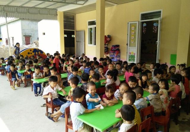 Nhiều địa phương ở Thanh Hóa bị áp lực vì thiếu phòng học Mầm non. (ảnh minh họa)