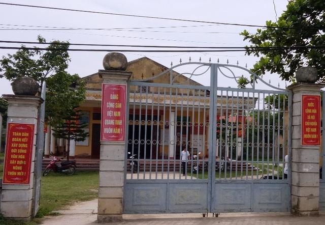 Cán bộ xã Hà Ninh thừa nhận sự việc trên là có và đang chờ kết luận thanh tra