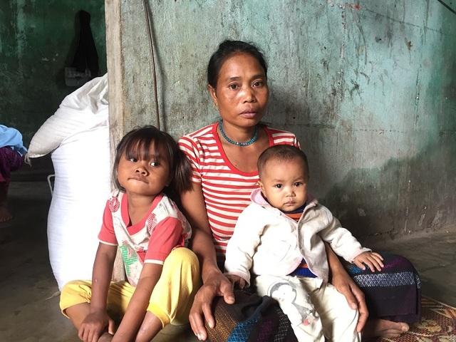Cuộc sống của chị Khun và những đứa con trong nhà còn rất nhiều khó khăn