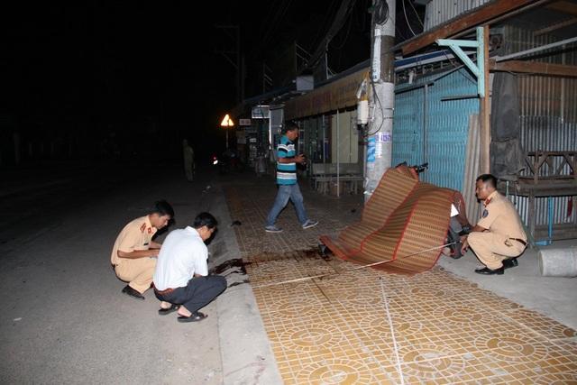 Hiện trường xảy ra vụ tai nạn làm hai thanh niên tử vong tại chỗ