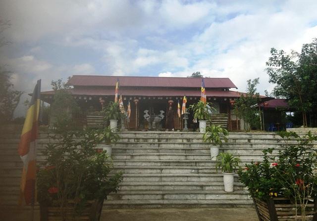 Chùa Mèo, huyện Lang Chánh tọa lạc ở độ cao hơn 1.000m so với mặt nước biển