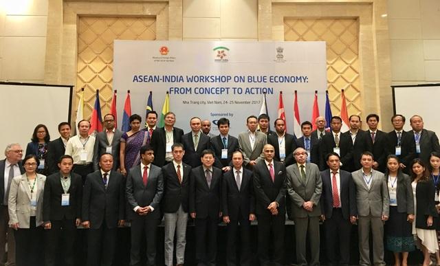 Các đại biểu ASEAN - Ấn Độ tham dự Hội thảo tại Nha Trang