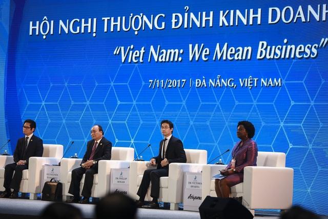 Thủ tướng Chính phủ Nguyễn Xuân Phúc chủ trì Hội nghị Thượng đỉnh kinh doanh Việt Nam