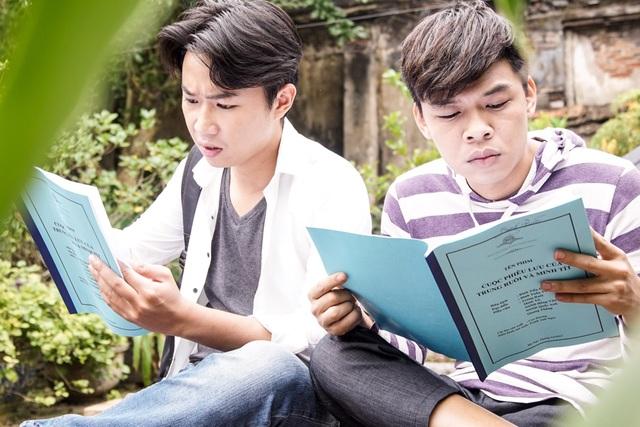 Hai diễn viên trẻ Trung ruồi và Minh tít là gương mặt quen thuộc của Táo quân 2017.