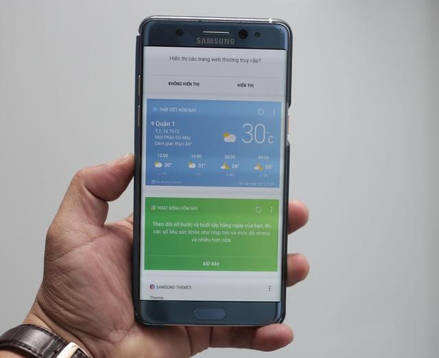 """Đánh giá Galaxy Note FE: Sản phẩm thay thế của người """"đàn anh"""" Galaxy Note7 - 8"""