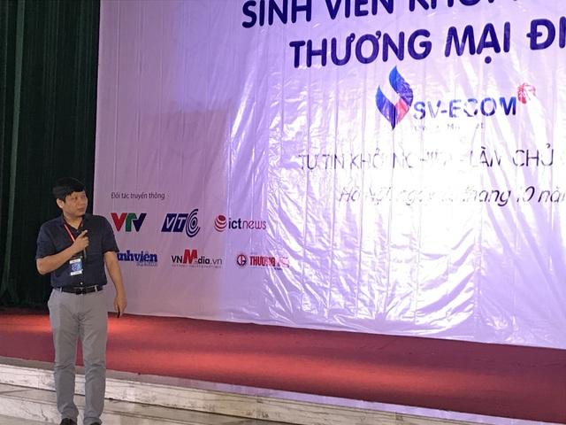 Ông Hà Anh Tuấn, CEO của Vinalink tin tưởng vào sự thành công của khởi nghiệp dựa trên TMĐT