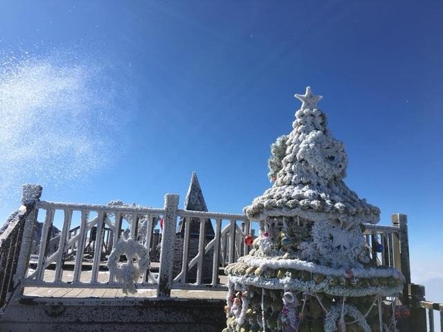 Hình ảnh băng tuyết tuyệt đẹp phủ trắng Fansipan - 7