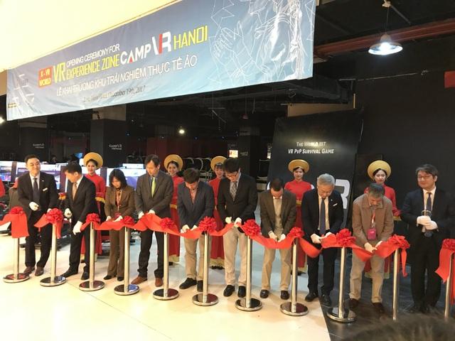 Khai trương trung tâm thực tế ảo đầu tiên của Hàn Quốc tại Việt Nam - 3