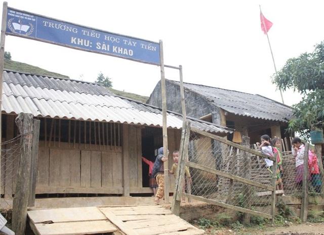 Trên địa bàn huyện Mường Lát có nhiều điểm trường lẻ của ngành giáo dục ở địa bàn khó khăn