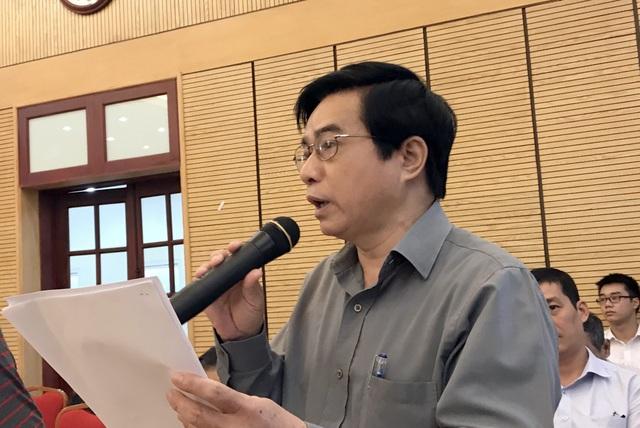 Ông Nguyễn Công Hoan đề nghị Chủ tịch UBND TP Hà Nội làm rõ những vấn đề liên quan đến quy hoạch ga Hà Nội