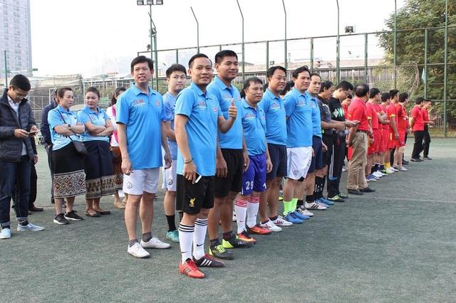 Giao lưu bóng đá Bộ Ngoại giao Việt Nam - Lào năm 2017 - 8