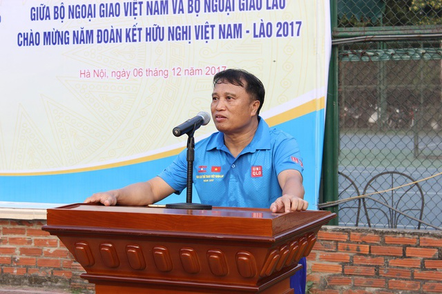 Giao lưu bóng đá Bộ Ngoại giao Việt Nam - Lào năm 2017 - 5
