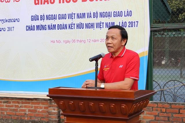 Giao lưu bóng đá Bộ Ngoại giao Việt Nam - Lào năm 2017 - 4