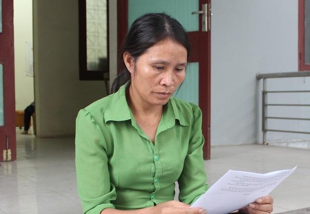 Bà Nguyễn Thị Thủy, mẹ nạn nhân Hồ Đức Tuấn đề nghị cơ quan điều tra không bỏ lọt tội phạm