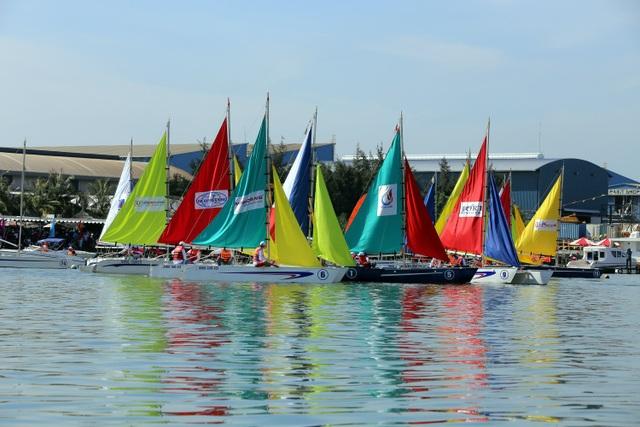 Hấp dẫn giải đua thuyền buồm Vũng Tàu Marina Sailing Cup 2017 - 2