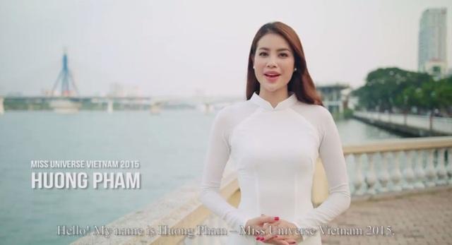 """Hoa hậu Phạm Hương tự tin làm """"hướng dẫn viên"""" du lịch trong tuần lễ APEC - 2"""
