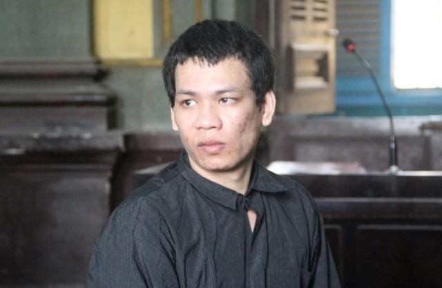 Bị cáo Phong tại toà phúc thẩm