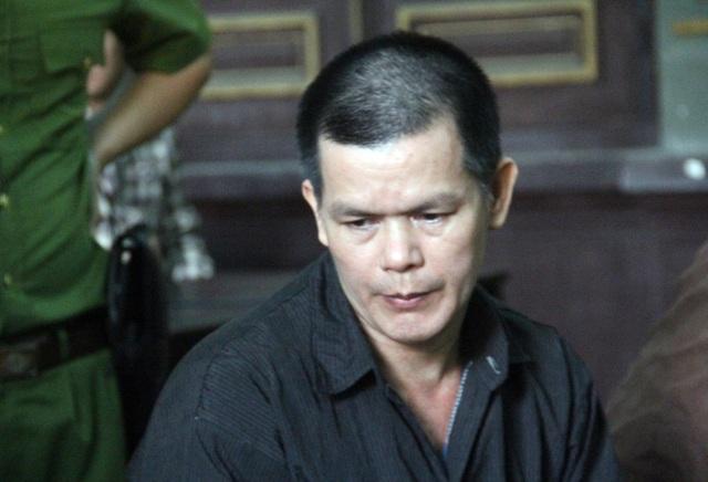 Bị cáo Khải tại phiên tòa.