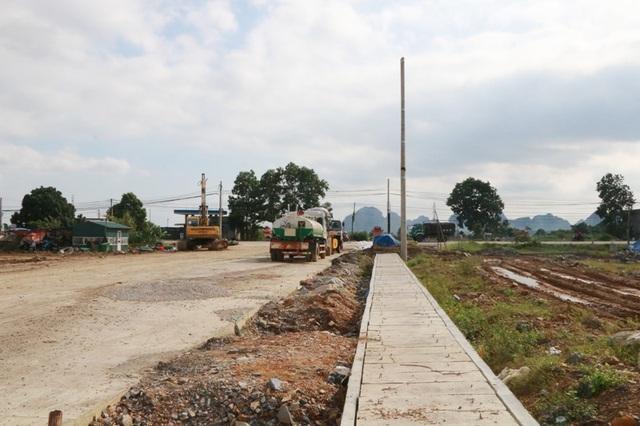 Mặt bằng CCN Gia Phú được Công ty Hoàng Dân xây dựng trái luật hiện đã cơ bản hoàn thành.