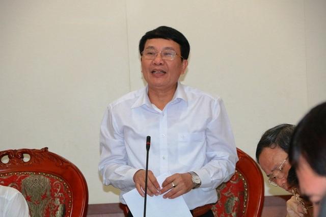 Ông Nguyễn Bá Nhuần - Chánh Thanh tra tỉnh Thanh Hóa.