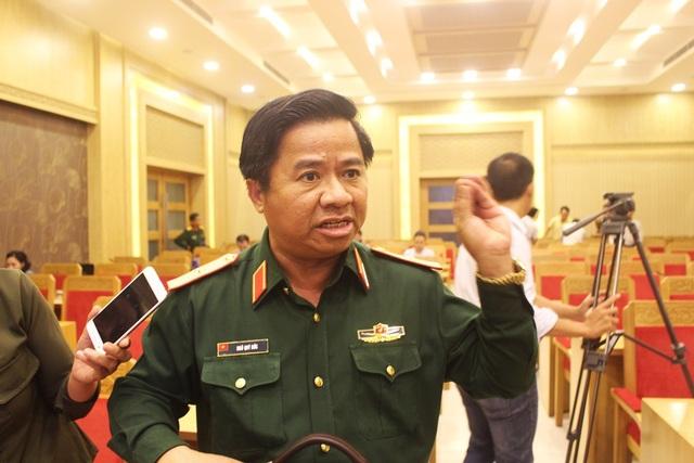 Thiếu tướng Ngô Qúy Đức, Phó Tư lệnh Tham mưu trưởng Quân khu 5 - Ảnh: Viết Hảo