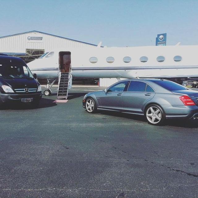 Hình ảnh sang chảnh của rapper Bow Wow ẩn ý Hôm nay bay tới New York.