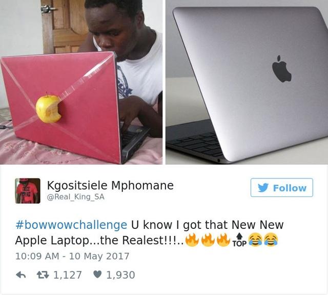 Mình vừa mua New New Apple Laptop đấy.