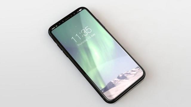 Thiết kế iPhone 8 được cho là sẽ sử dụng màn hình vô cực, viền bezel siêu mỏng.