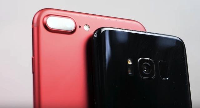 """So sánh """"sức mạnh"""" camera trên Galaxy S8 và iPhone 7+ - 1"""