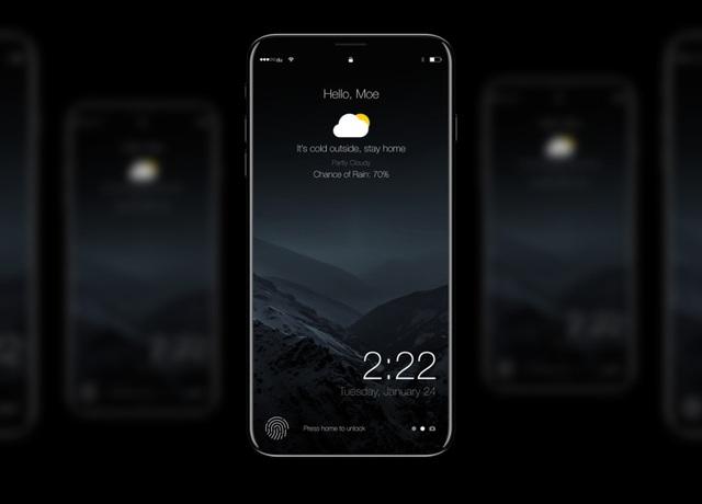 Apple sẽ đưa cảm biến vân tay mới hoàn toàn lên iPhone 8 - 1