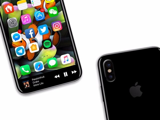 iPhone 8 sẽ sử dụng màn hình OLED do Samsung sản xuất.
