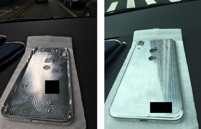 Hình ảnh chụp bộ khung được cho là của iPhone 8.