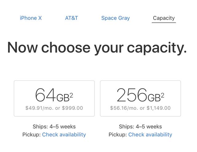 Đơn đặt hàng iPhone hiện tại sẽ xuất xưởng sau 4-5 tuần.