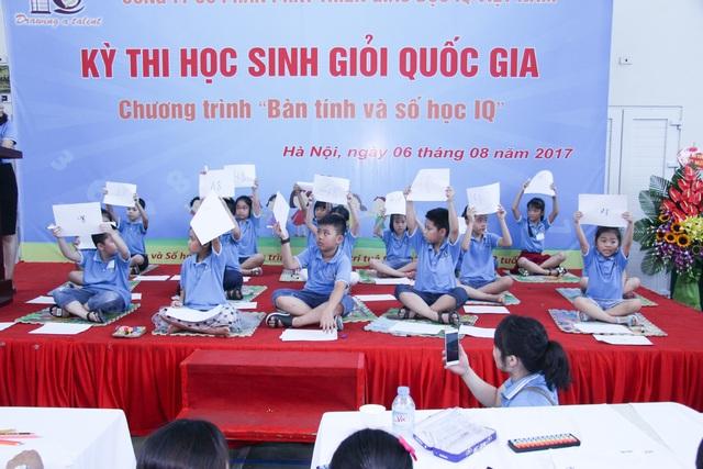 Cuộc tranh tài của 1.000 thần đồng siêu tính nhẩm Việt Nam 2017 - 3