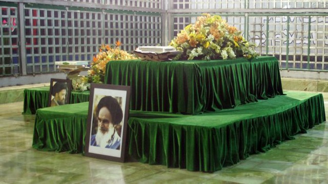 Lăng mộ của cố lãnh đạo tối cao Iran Ayatollah Khomeini (Ảnh: AFP)