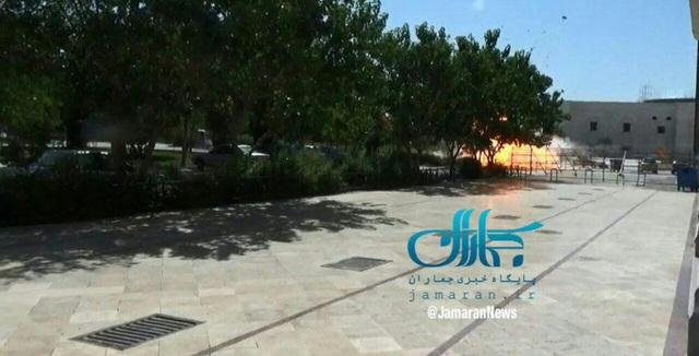 Vụ nổ tại lăng mộ của cố lãnh đạo tối cao Ayatollah Khomeini