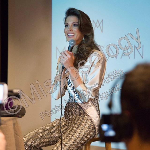 Hoa hậu Hoàn vũ trở về Pháp sau 2 tháng đăng quang - 4