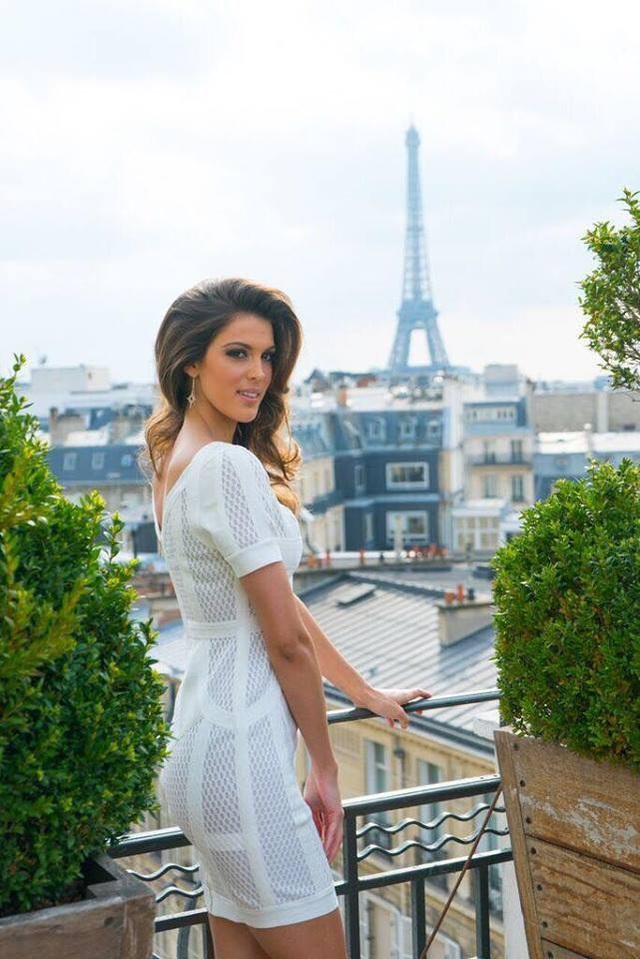 Hoa hậu Iris Mittenaere sẽ có vài ngày về thăm gia đình trước khi quay về Mỹ.