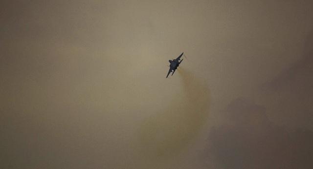 Một máy bay chiến đấu của Israel (Ảnh: Sputnik)
