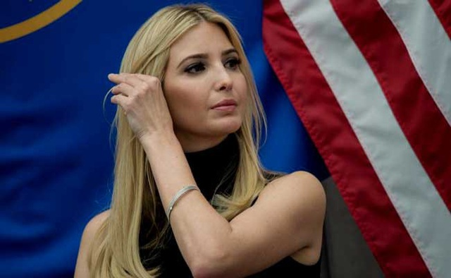 Con gái lớn Tổng thống Mỹ Donald Trump, cô Ivanka (Ảnh: Reuters)