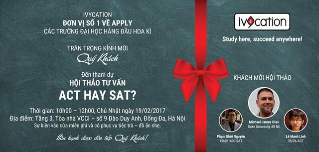 Hội thảo do Ivycation tổ chức diễn ra ngày 19/2 tại Hà Nội