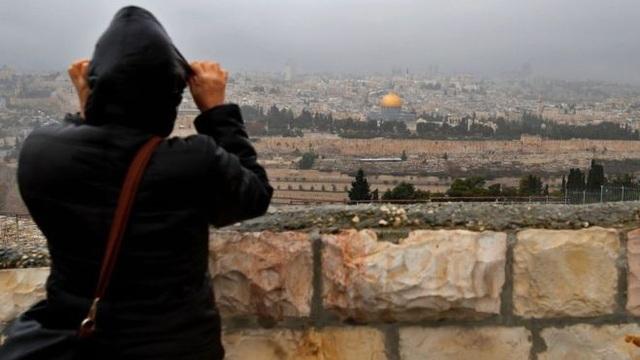 Cộng đồng quốc tế cho rằng, vấn đề Jerusalem cần được giải quyết thông qua đàm phán. (Ảnh: AFP)