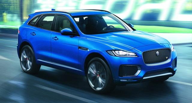 Xe của năm 2017 và Thiết kế xe hơi của năm 2017: Jaguar F-Pace