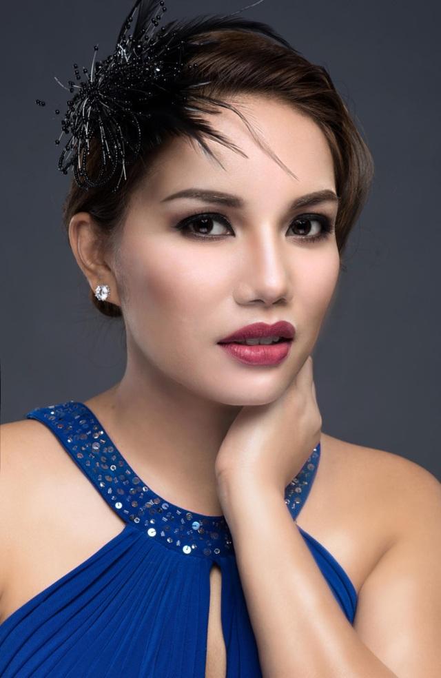 Janice Phương trong dự án âm nhạc hợp tác với nhạc sĩ Châu Đăng Khoa. Ảnh do đại diện truyền thông cung cấp.