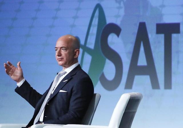 Jeff Bezos hiện là người giàu thứ hai thế giới, chỉ xếp sau tỷ phú Bill Gates. (Nguồn: Getty Images)