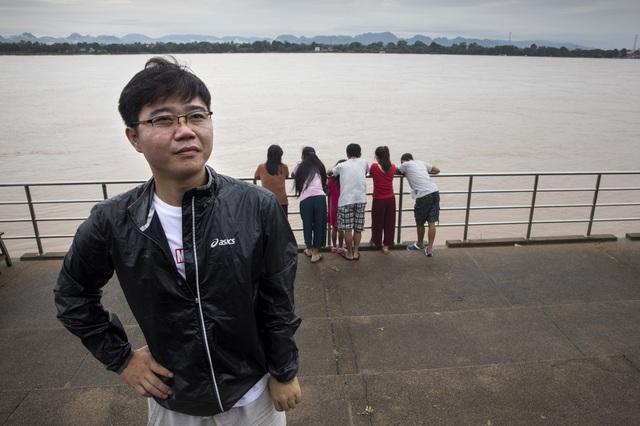 Ji Song Ho là một trong những người Triều Tiên đào tẩu thành công. Hiện anh đang hoạt động cho tổ chức giúp đỡ người Triều Tiên đào tẩu. (Ảnh: Washington Post)
