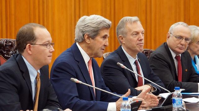 Ngoại trưởng John Kerry tin rằng Chính quyền mới sẽ tiếp tục chính sách tăng cường quan hệ với khu vực châu Á-Thái Bình Dương (Ảnh: Mạnh Thắng)