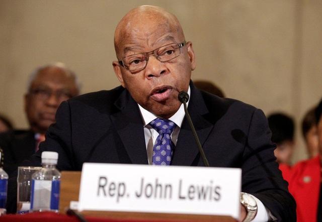 Hạ nghị sĩ John Lewis (Ảnh: Reuters)